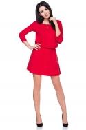 Stilinga raudona suknelė
