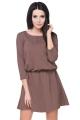 Stilinga ruda suknelė