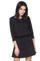 Stilinga juoda suknelė