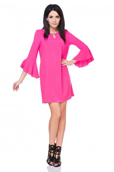 Rožinė puošni suknelė