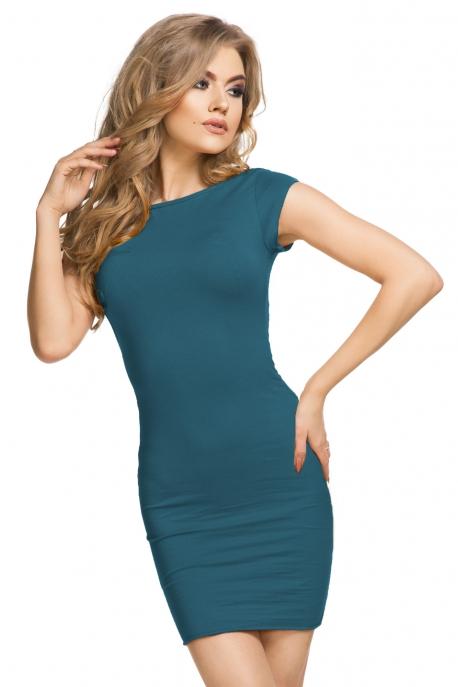 Turkio spalvos suknelė