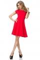 Raudonos spalvos suknelė