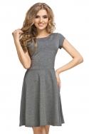 Pilkos spalvos suknelė