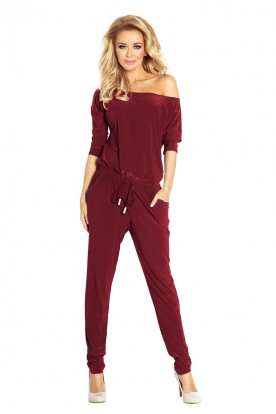 Overall Sporty - dark red 81-5