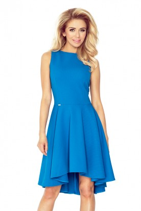 Lacosta - Exclusive dress with longer back - blue 66-14