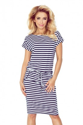 Short sleeve sport dress - 1x1 cm straps 139-2