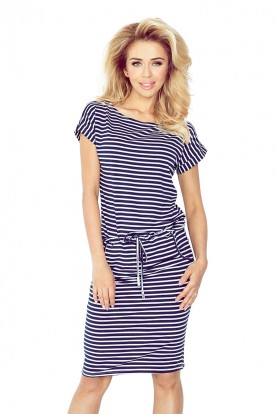 Short sleeve sport dress - 0,5x1cm straips 139-1