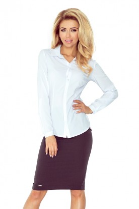 White blouse - buttons MM 017-2