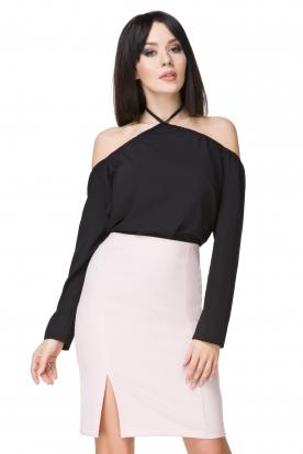 Elegantiškas rausvas sijonas