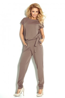 Coverall - Elegant - mocca 120-2