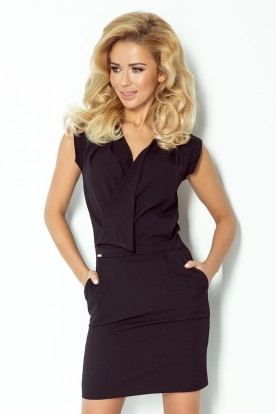 Dress assumed neckline - Black 94-4