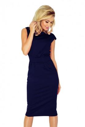 Dress SARA - Navy Blue 144-4