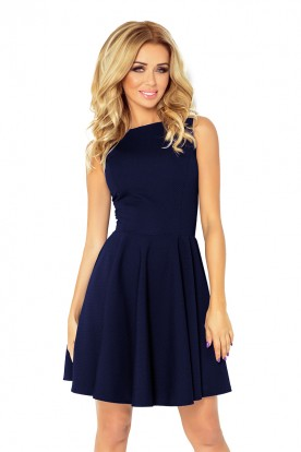 dress - navy blue 125-21