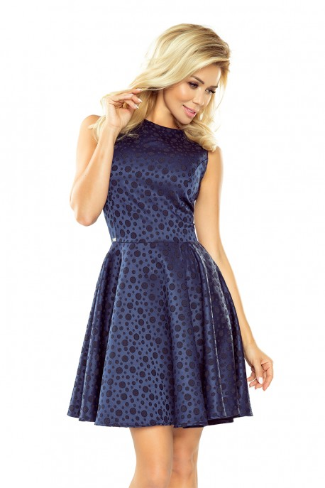 Dress - Navy blue 125-22