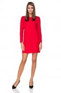 Daili raudona suknelė