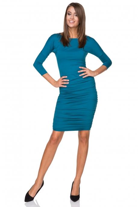 Elektrinės spalvos suknelė