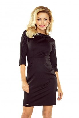 LENA elegant dress - black 154-1