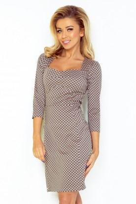 Dress with a nice neckline and sleeves 3