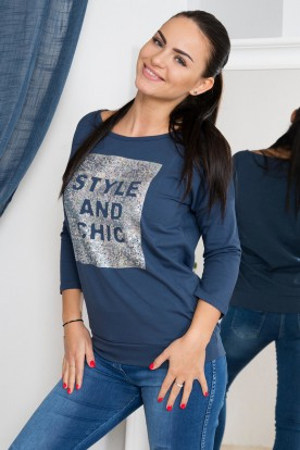 Bluzka Styl and Chic jeans