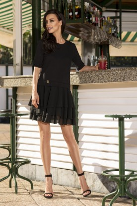 L244 Mini dress black