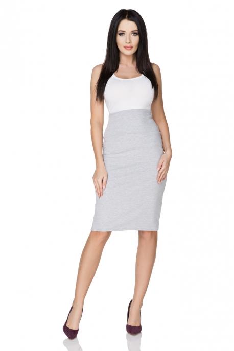 Šviesiai pilkas sijonas