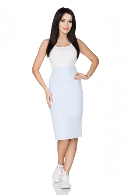 Melsvas sijonas