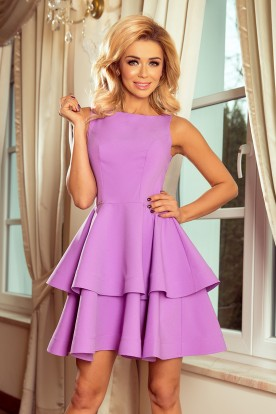 169-6 Dress CRISTINA - purple