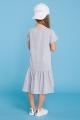 Šviesiai pilka suknelė mergaitei
