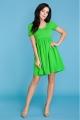 Žalia suknelė moteriai