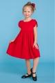 Raudona suknelė mergaitei