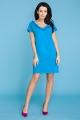Mėlyna suknelė moteriai