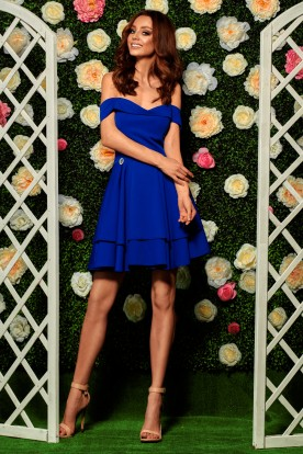 Bardot dress L258 blue