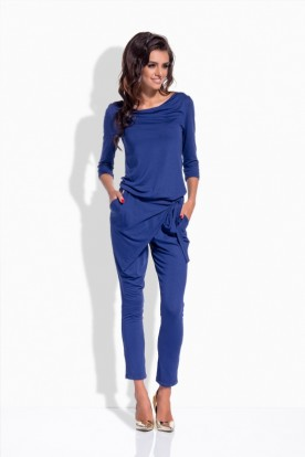 L156 Elegant, original overall with the 3/4 lenght sleeves navy