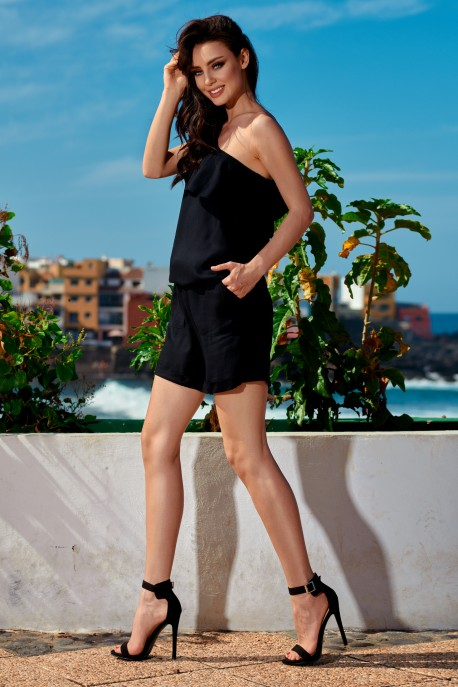 Fashionable summer overall L251 black