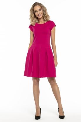 Stilinga rožinė suknelė