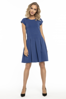 Stilinga mėlyna suknelė