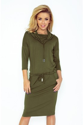 44-18 Sports dress with binding - KHAKI