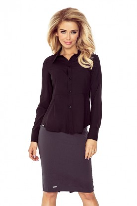 Black blouse - buttons MM 016-3