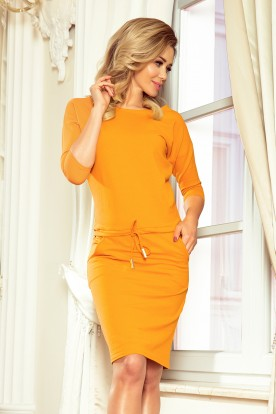 13-100 Sporty dress - honey color