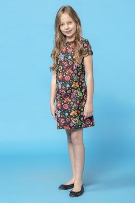 Marga suknelė mergaitei