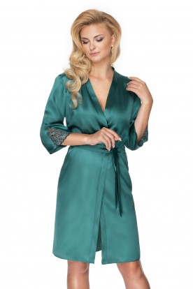 Szlafrok Emerald Dark Green