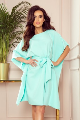 287-6 SOFIA Butterfly dress - mint