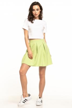 Baltas, dailus sijonas