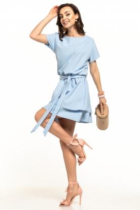 Šviesiai mėlyna, daili suknelė