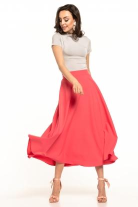 Šviesiai mėlynas, ilgas sijonas