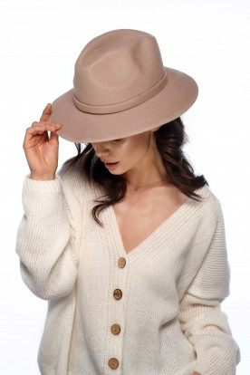 Classic ladies hat LGK106 beige