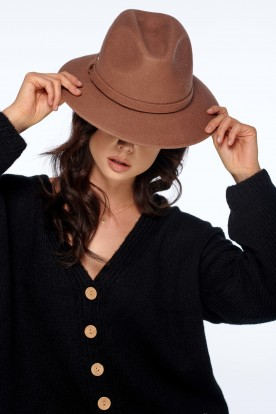 Classic ladies hat LGK106 camel
