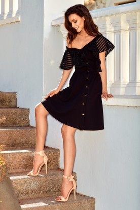 Cocktail dress L246 black