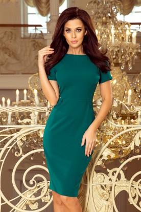 150-4 Dress DOROTA - Green