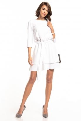 Balta, daili suknelė